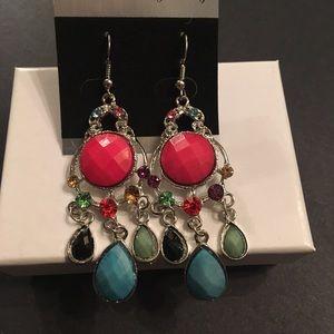 Jewelry - Multi colored earrings